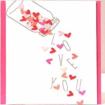 22 cute DIY Valentine's Day cards - homemade card ideas for Valentine's Day… - ub#card