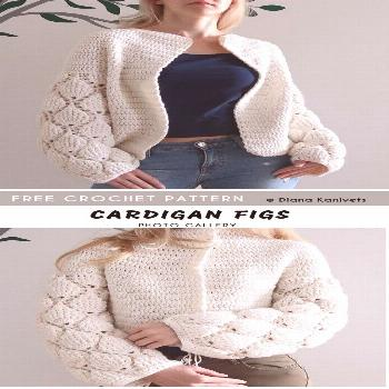 Below project was quite good described in English, this cardi looks stunning like a final project,
