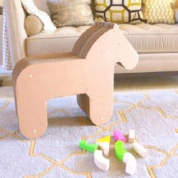 Cardboard Toy Horse: 5 Steps (with Pictures)