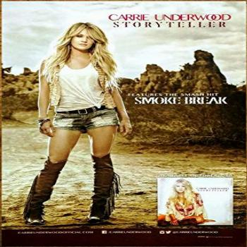 Carrie Underwood Storyteller Poster 12 x 12 inches poster