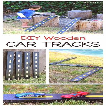 DIY Wooden Roads and Ramps for Toy Cars - Buggy and Buddy DIY Wooden Roads and Ramps for Toy Cars -