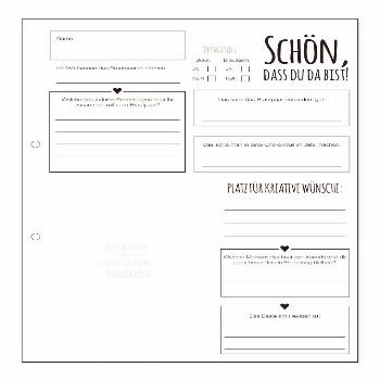 Guestbook cards Wedding