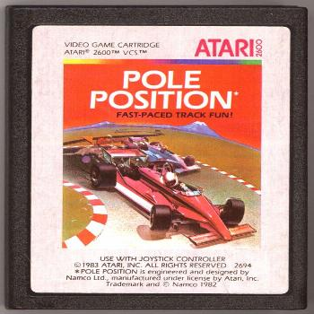 Here's a bit of simhistory: While Pole Position wasn't the first racing game, it was the first to g