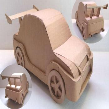 In this video I show you how to make an awesome race car completely out of cardboard! If you want t