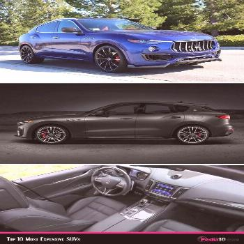 Maserati Levante Trofeo - Luxury SUV Cars - Luxurious SUV - 7th most expensive Luxurious SUV in the