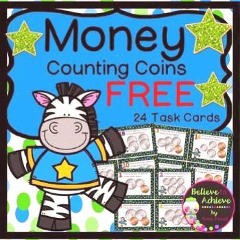 Math   money task cards, toothy task cards, 5th grade math task cards, task cards kindergarten, mai