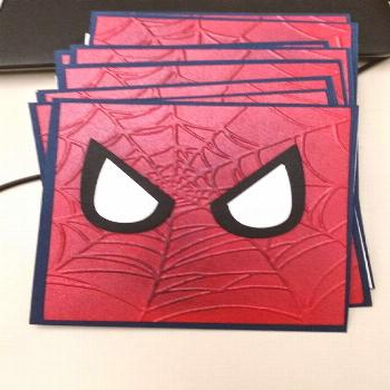 Sharon it with you: Spider-Man invites and Thank You cards: ,  Sharon it with you: Spider-Man invit
