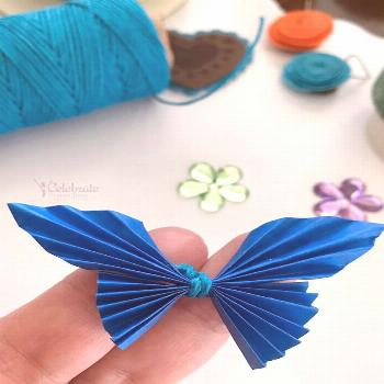 This easy and affordable butterfly paper craft will surprise you with its beauty. Make it for your