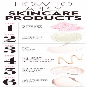 This Is The Order You Should Apply Your Skincare Products for the Best Results - Baby -