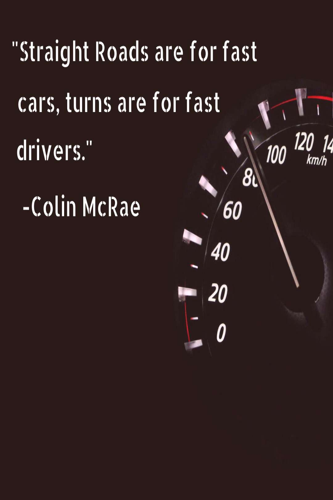 A fast car does not make a fast racer .