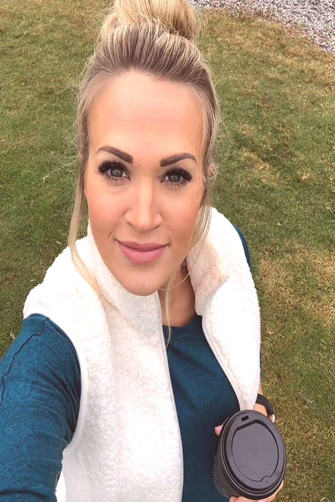 Carrie Underwood Is Officially a Soccer Mom — and Shes Celebrating with a Smiley Selfie!