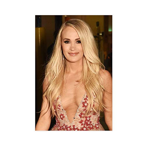Famous Female Singer Carrie Underwood Poster13 Canvas Poster